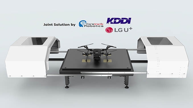 KDDI, LG Uplus and CIRC Join Forces for Drone Business Market Development
