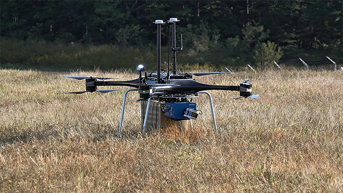 Autonomous resupply for US military is flying into reality