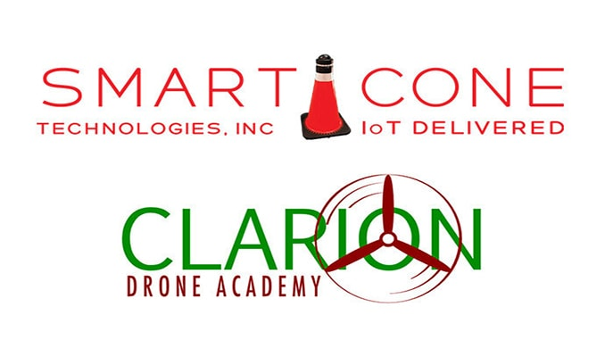 Disinfection Drone To Fight COVID-19 From SmartCone Technologies And Clarion Drone Academy
