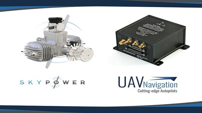 UAV Navigation's Autopilots Can Now Control Sky Power's Engines