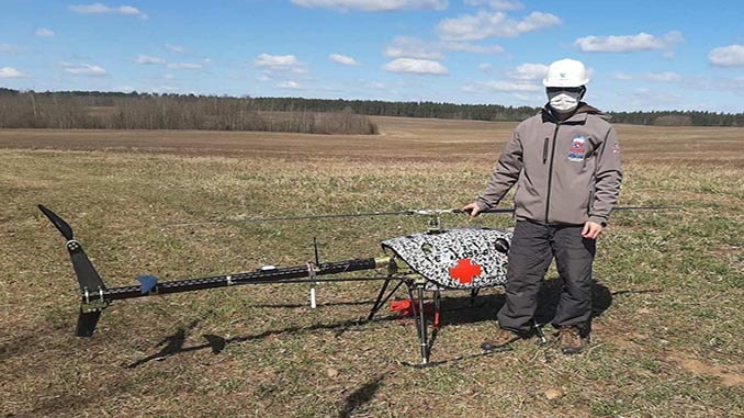 UAVOS Completes Tests For UAV Delivery Service Humanitarian Relief