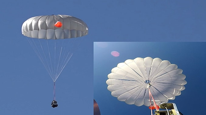 New UAVOS Parachute System For UAS Proved Effective