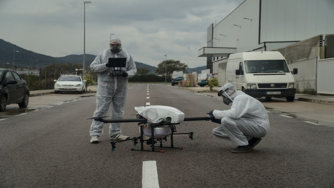 Long-endurance Drones Prove Their Value Against Coronavirus