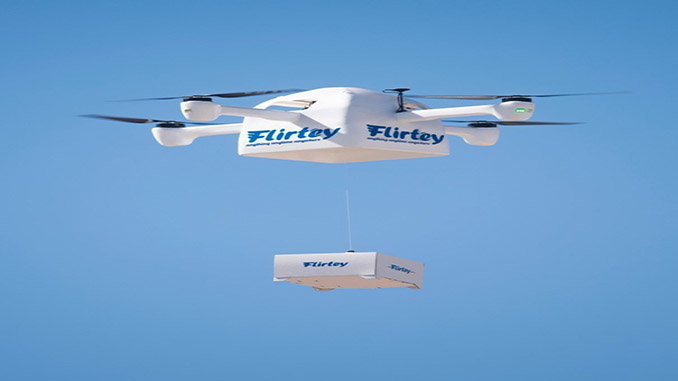 Flirtey's New Granted Patent is Instrumental for Drone Delivery