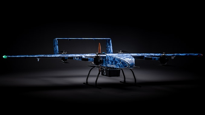 Volansi Announces The Launch Of The Long Range Voly M20 UAS