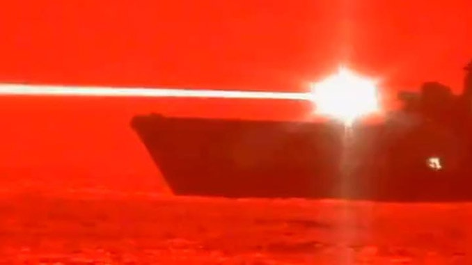 U.S. Navy Successfully Tests Laser Weapon That Destroyed A UAV