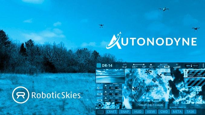 Autonodyne Partners with Robotic Skies for Autonomous UAS Maintenance Support