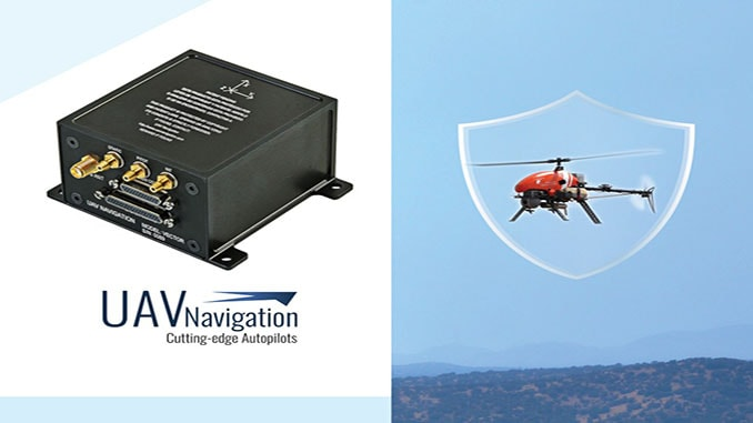 UAV Navigation Tests Its Autopilot Against An Anti Drone System