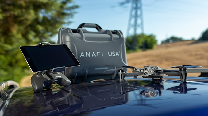 Parrot Launches ANAFI USA: A Drone Designed For First Responders And Enterprise Professionals