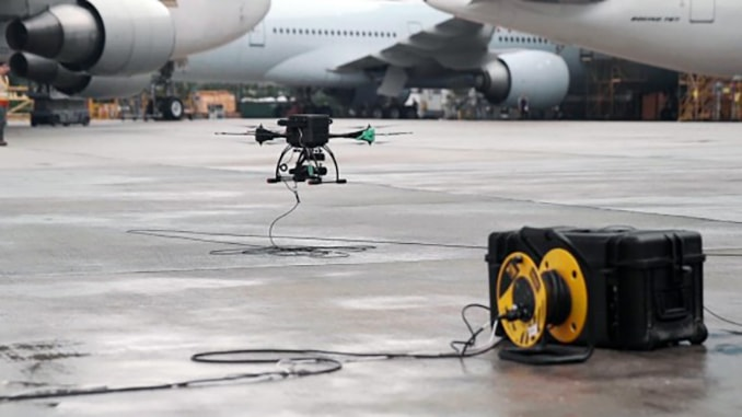 ST Engineering Receives First-ever Authorisation from CAAS to Perform Aircraft Inspection Using Drones