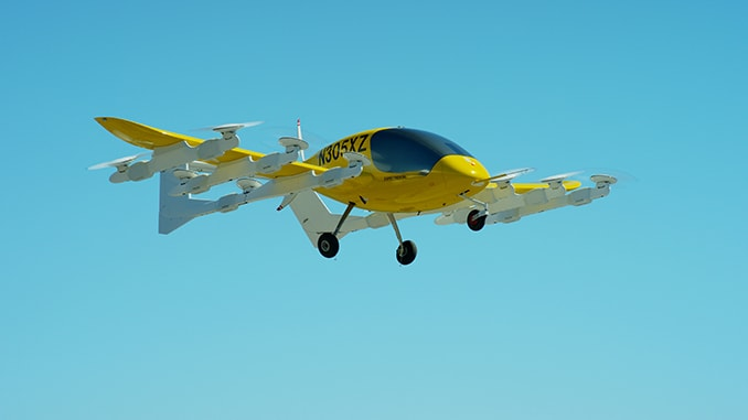 Wisk Resumes Flight Testing with Self-Flying Air Taxi