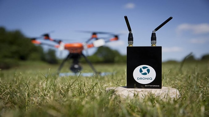 Droniq And Sky Drone Make BVLOS UAS Flights With Real-time Command & Control Possible