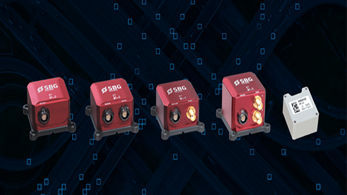 SBG Systems Unveils Upgraded Ellipse Series Inertial Sensors