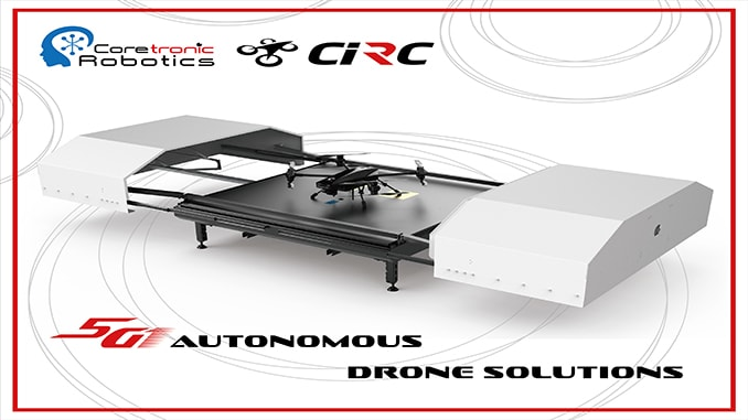 CIRC Announced First Drone Solution Over 5G Network In Taiwan