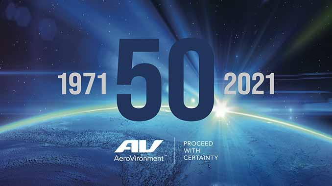 AeroVironment Marks 50 Years of Achieving the Impossible