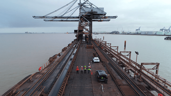 Aerodyne and PWC Complete Drone Inspections Trial at British Port