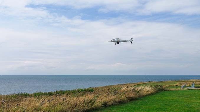 Schiebel Camcopter S-100 and Nordic Unmanned Monitor Ship Emissions for EMSA in Denmark