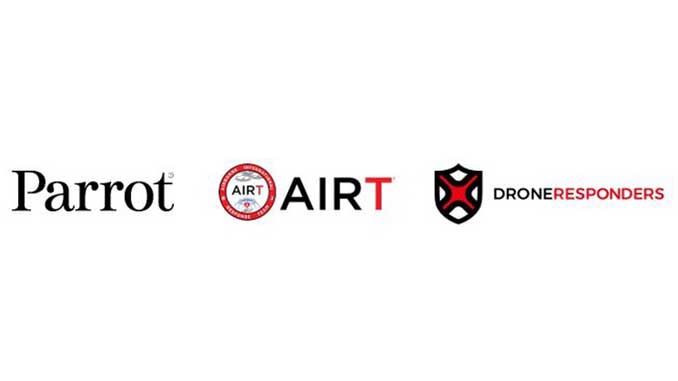 Parrot to partner with AIRT's Drones for Good and DRONERESPONDERS Public Safety UAS Programs