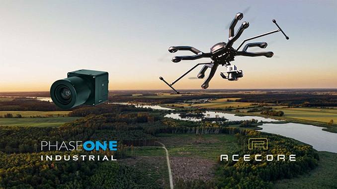 Phase One Industrial and Acecore Announce Integration of Camera and Drone Technologies