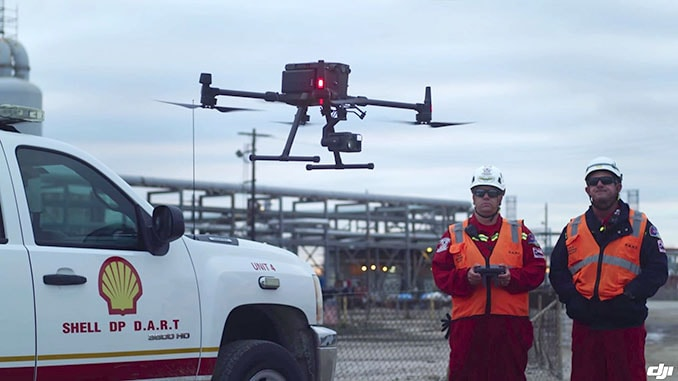 Shell and DJI Partner To Innovate Drone Technology For The Energy Industry