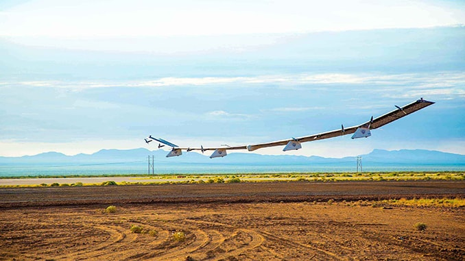 HAPSMobile Completes Test Flight of Its UAV Designed for Stratospheric Telecommunications Platform Systems