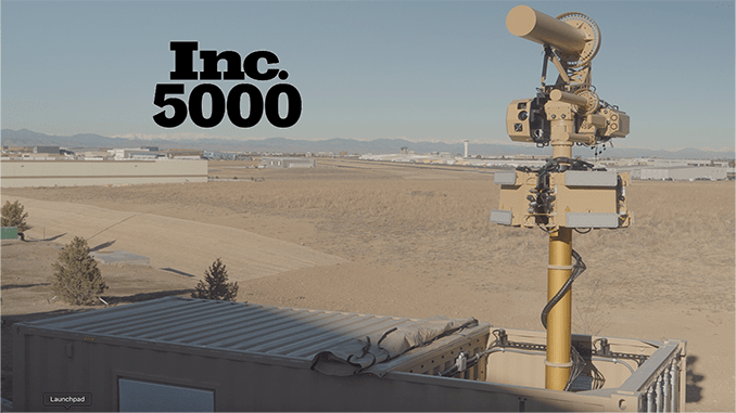 Liteye Systems Added To Inc. 5000 Fastest Growing Companies