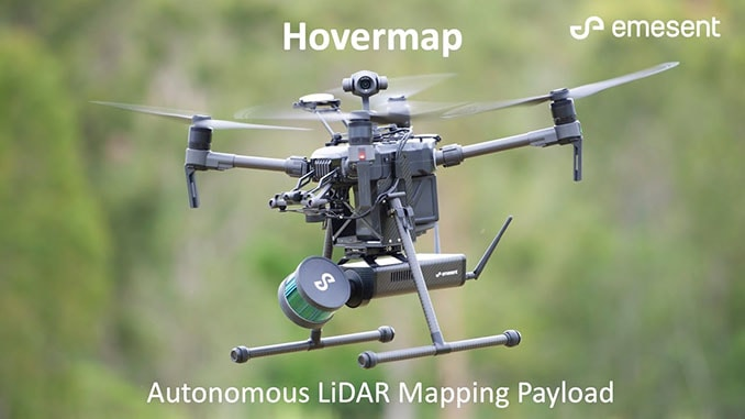 Emesent's Hovermap Pilots The World's First Underground Drone Flight With The DJI M300 RTK