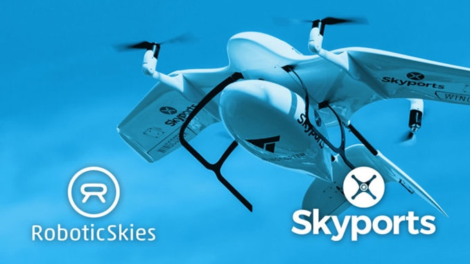 Skyports Partners with Robotic Skies to Develop a UAS Maintenance Program