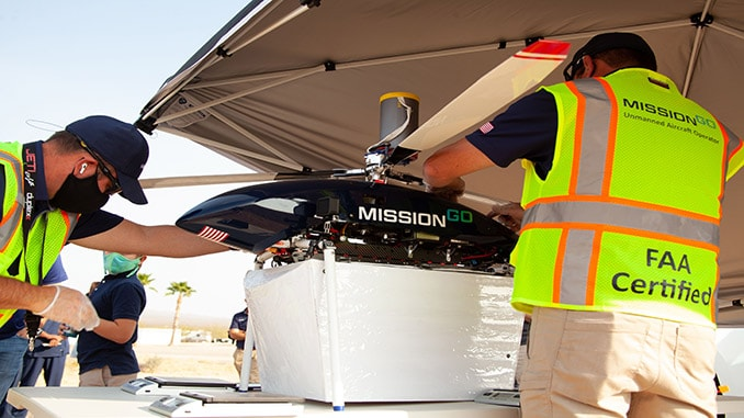 MissionGO Completes Longest Organ Delivery Flight via UAS in Las Vegas