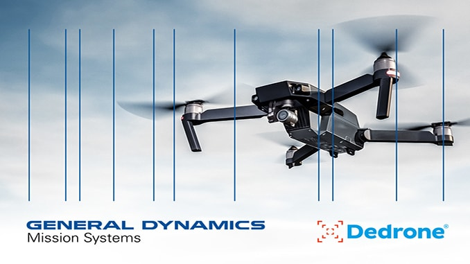 General Dynamics Mission Systems and Dedrone Enter Strategic Partnership
