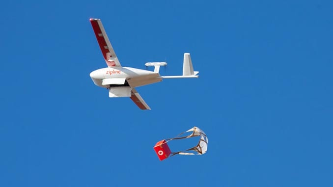 Walmart and Zipline Team Up to Bring First-of-Its Kind Drone Delivery Service to the United States