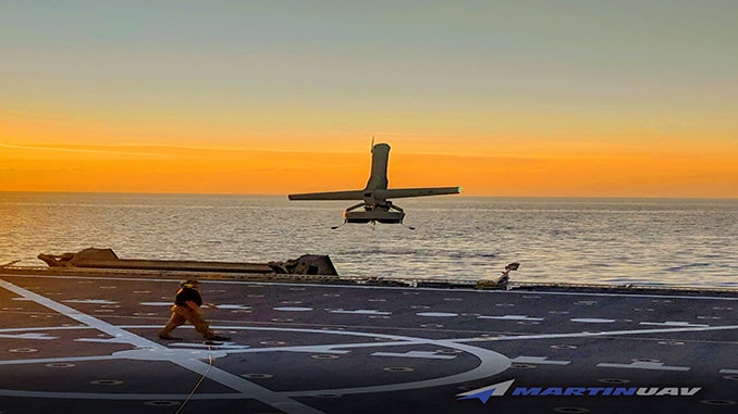 Martin UAV V-BAT Selected As The First-Ever VTOL UAS To Be Evaluated During An Operational Coast Guard Patrol