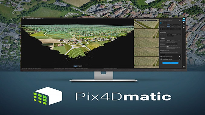 Pix4D Announces Pix4Dmatic: Accurate, Faster Photogrammetry on a Larger Scale