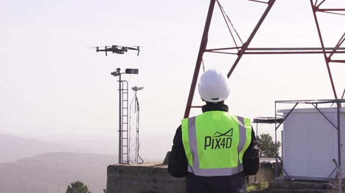 Pix4D And SAP Start A Joint Innovation Project For The 3D Inspection Of Transmission Masts