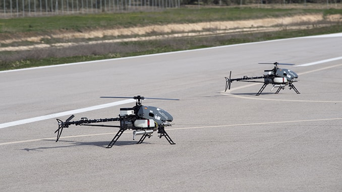 "IAI Introduces ""MultiFlyer"", A Fleet of Small Helicopter UAVs Designed for Non-Military Tasks"