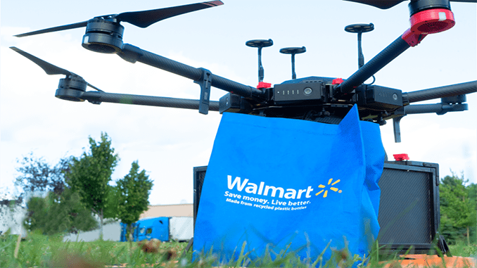 Walmart Now Piloting On-Demand Drone Delivery with Flytrex
