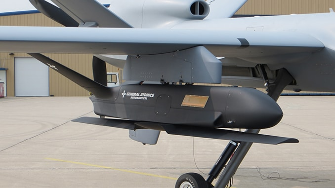 General Atomics Aeronautical Systems Conducts Sparrowhawk sUAS Flight Tests
