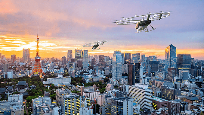 Japan Airlines and Volocopter Sign Agreement to Develop and Launch Air Mobility Services in Japan