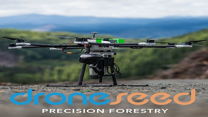 DroneSeed is first in U.S to receive approval from FAA for post-wildfire reforestation in California