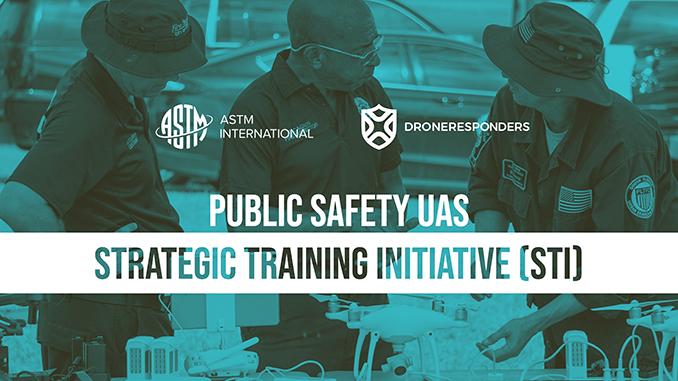 ASTM International Partners with DRONERESPONDERS to Standardize Public Safety UAS Training