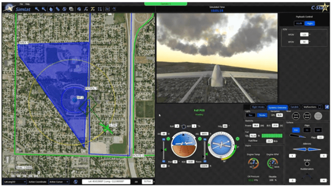 Purdue University UAS to deploy Simlat UAS Traffic Management (UTM) simulation