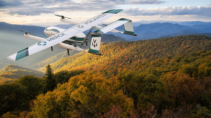 Volansi Launches Commercial Drone Delivery Program To Deliver Cold Chain Medicines In Rural North Carolina