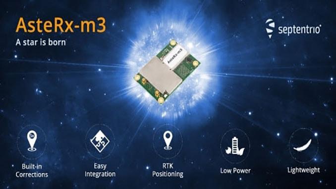 Septentrio unveils AsteRx-m3 high-precision GNSS receivers