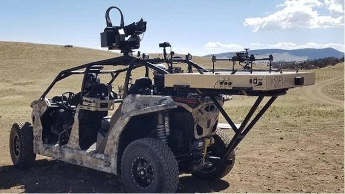 SOR Autonomous Security Drone Collaboration