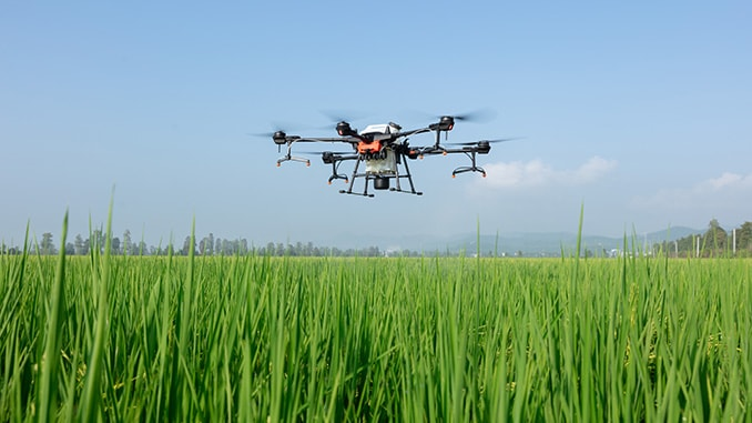 DJI's Latest AGRAS T20 Drone Makes Agricultural Spraying Easier, Smarter And Safer
