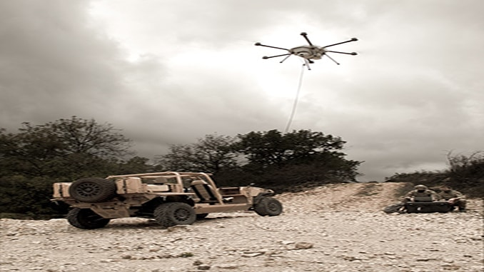 Elistair unveils long-endurance Orion 2 tethered drone for military, security, and industrial use