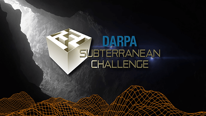 DARPA Subterranean Virtual Cave Circuit Challenge