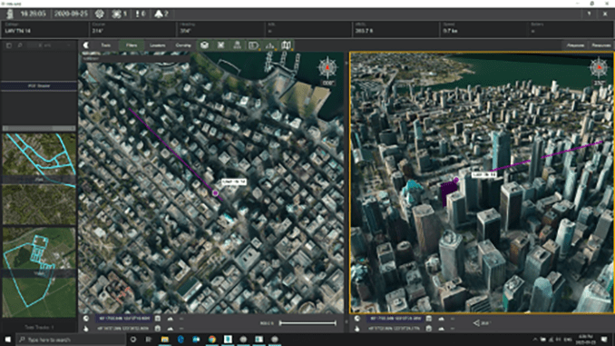 Kongsberg Geospatial and Unifly partner to provide integrated Urban Situational Awareness for drones