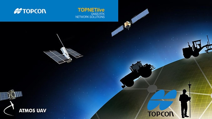 Atmos UAV partners with Topcon positioning group to provide users with high-end RTK reference network solutions