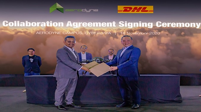 DHL Express Malaysia partners Aerodyne Group on drone delivery services